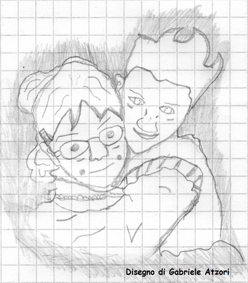 abbraccio matita034